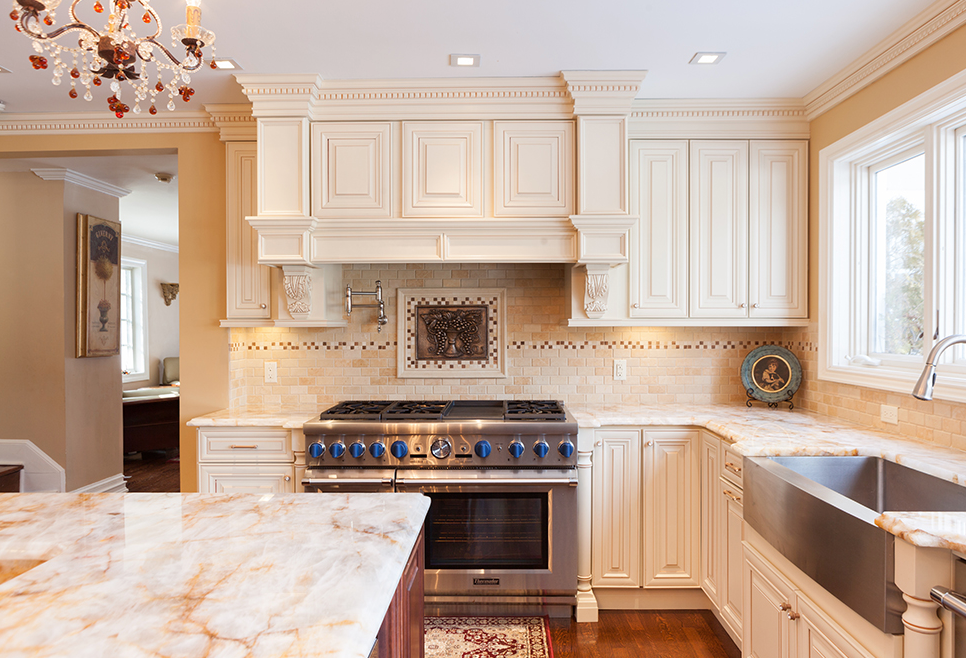 Cream Maple Glazed Cabinet Door Quality Kitchens For Less