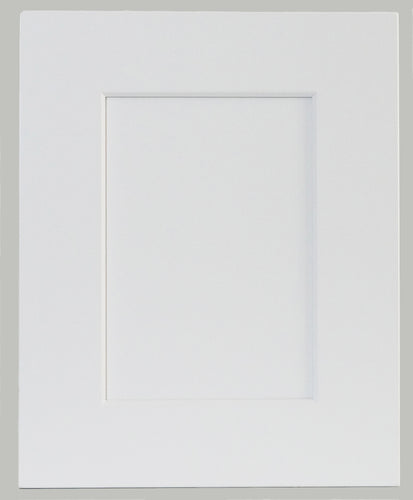 White Beveled Shaker Door - Quality Kitchens For Less