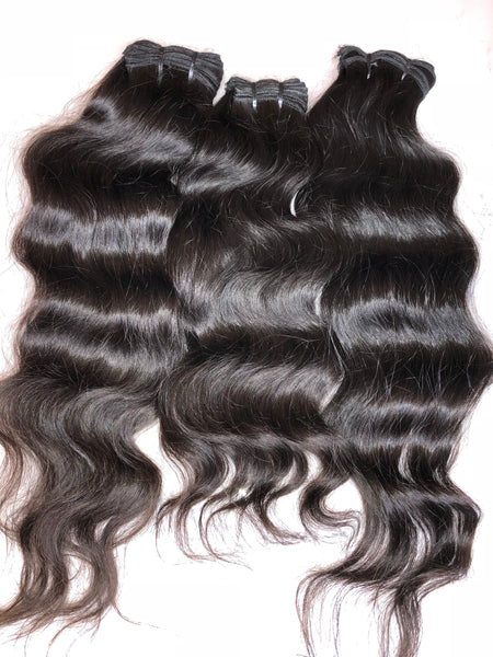 Posh Pure Indian Hair (Wavy)