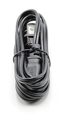 2 Prong Figure 8 Power Cord Cable |Non-Polarized 15 Foot – Black| Satellite/ PS3