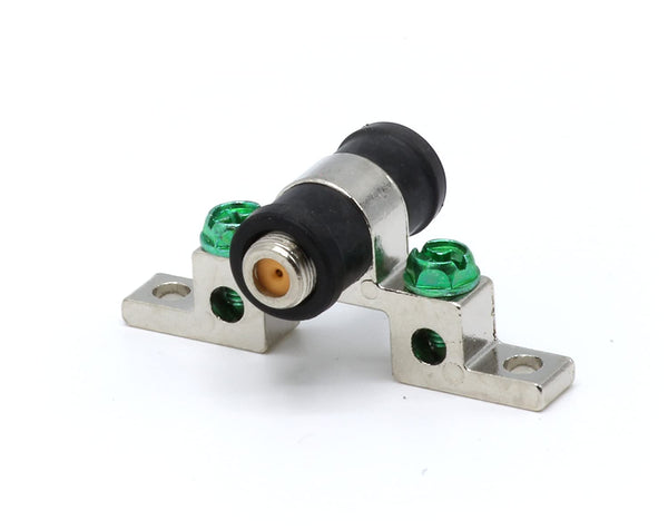 3.0 GHz - Quad / Four Ground Block | Rubber Weather Seal Coax Cable F Connector