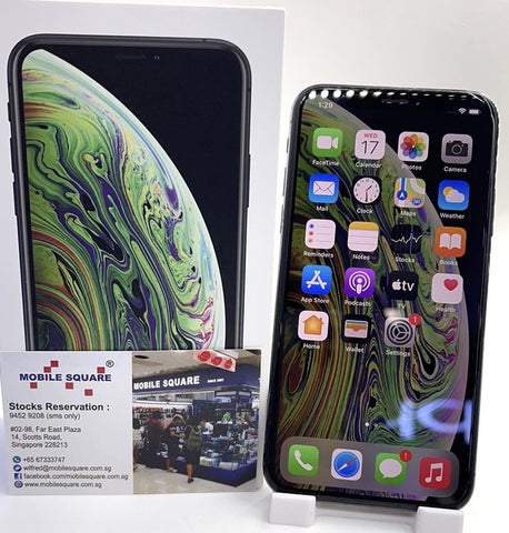 Apple iPhone XS<br>(256GB/4GB RAM)<BR>Color: Gray<br>(SKU: U759)