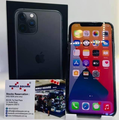 Apple iPhone 11 Pro<br>Hong Kong Set<br>(64GB/4GB RAM)<BR>Color: Gray<br>(SKU: U769)