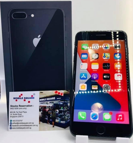 Apple iPhone 8 Plus<br>(256GB/3GB RAM)<BR>Condition: Used<BR>Color: Space Gray<br>(SKU: U772)