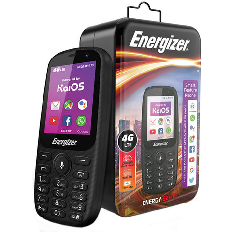 Energizer E241<br>Senior Smart Phone<br>3G Dual-Sim