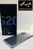 Samsung S20+<br>(128GB/8GB RAM)<BR>Condition: Used<BR>Color: Cosmic Gray<br>(SKU: U119)