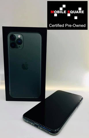 Apple iPhone 11 Pro 512GB<br>(512GB/4GB RAM)<BR>Condition: Used<BR>Color: Midnight Green<br>(SKU: U128)