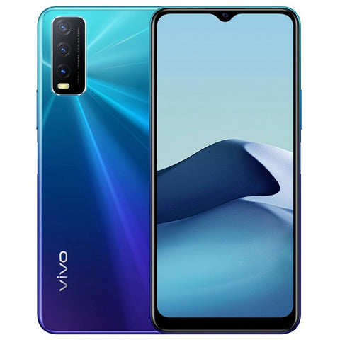 "Vivo Y20<br>(64GB/4GB RAM)<BR><div style=""font-size:70%""><font color=""red"">$20 Cash Rebate + Gift Box!</font></div><div style=""font-size:70%"">2 Years Vivo Singapore Warranty</div>"