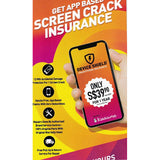 Device Shield<br>Insurance for Cracked Screen!