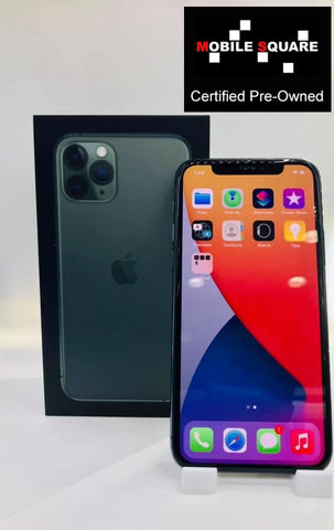 Apple iPhone 11 Pro<br>(64GB/4GB RAM)<BR>Condition: Used<BR>Color: Midnight Green<br>(SKU: U181)
