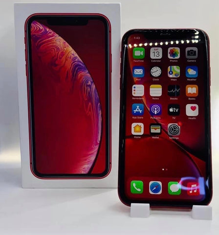 Apple iPhone XR<br>(128GB/3GB RAM)<BR>Color: Red<br>(SKU: U815)