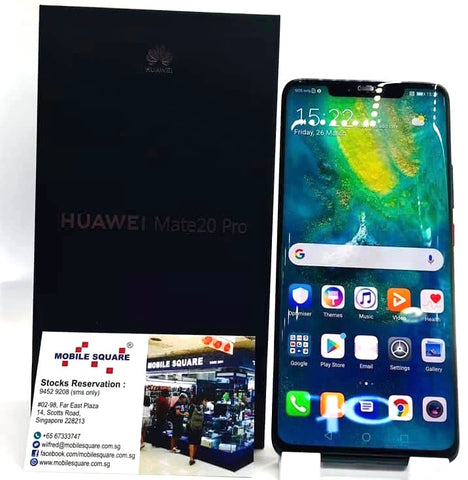 Huawei Mate 20 Pro<br>(128GB/6GB RAM)<BR>Color: Emerald Green<br>(SKU: U835)