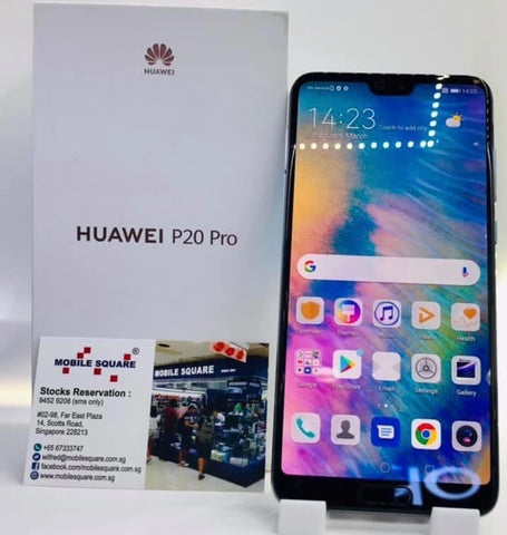 Huawei P20 Pro<br>(128GB/6GB RAM)<BR>Color: Midnight Blue<br>(SKU: U801)