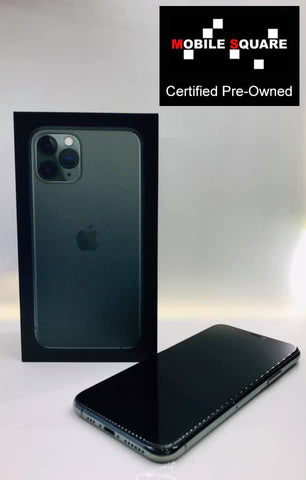 Apple iPhone 11 Pro<br>(256GB/4GB RAM)<BR>Condition: Used<BR>Color: Midnight Green<br>(SKU: U142)