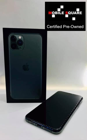 Apple iPhone 11 Pro<br>(256GB/4GB RAM)<BR>Condition: Used<BR>Color: Midnight Green<br>(SKU: U143)