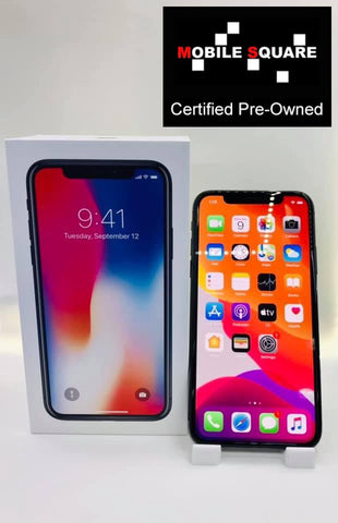 Apple iPhone X<br>(256GB/3GB RAM)<BR>Condition: Used<BR>Color: Space Gray<br>(SKU: U175)