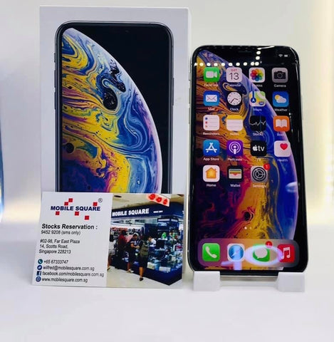 Apple iPhone XS<br>(256GB/3GB RAM)<BR>Color: Silver<br>(SKU: U811)