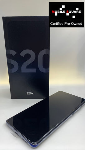 Samsung S20+<br>(128GB/8GB RAM)<BR>Condition: Used<BR>Color: Cosmic Gray<br>(SKU: U157)