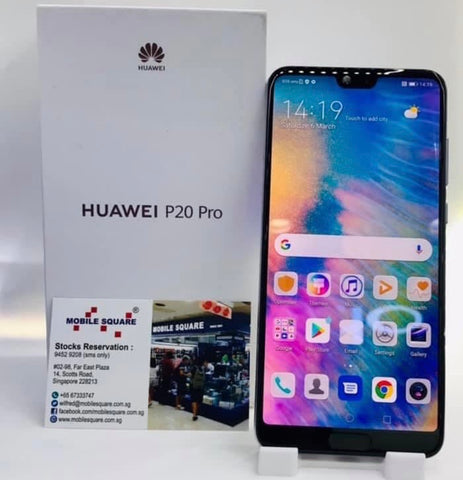Huawei P20 Pro<br>(128GB/6GB RAM)<BR>Color: Twilight<br>(SKU: U800)