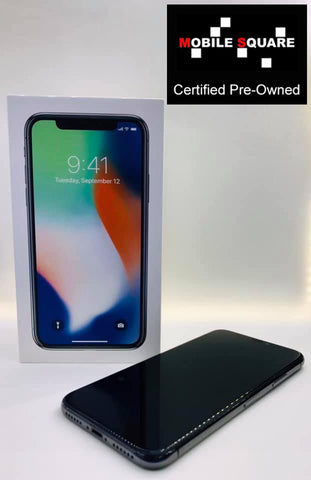 Apple iPhone X<br>(256/3GB RAM)<BR>Condition: Used<BR>Color: Silver<br>(SKU: U137)