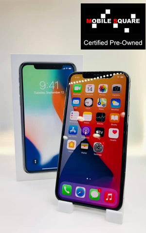 Apple iPhone X<br>(256GB/3GB RAM)<BR>Condition: Used<BR>Color: Silver<br>(SKU: U190)