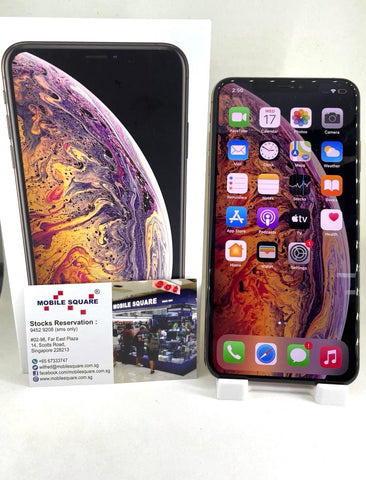 Apple iPhone Xs Max<br>(256GB/4GB RAM)<BR>Color: Gold<br>(SKU: U758)