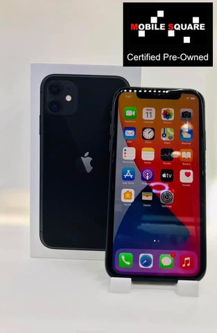 Apple iPhone 11 <br>(128GB/4GB RAM)<BR>Condition: Used<BR>Color: Black<br>(SKU: U178)