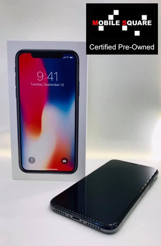 Apple iPhone X<br>(256GB/3GB RAM)<BR>Condition: Used<BR>Color: Space Grey<br>(SKU: U155)