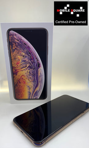 Apple iPhone XS Max<br>(256GB/4GB RAM)<BR>Condition: Used<BR>Color: Gold<br>(SKU: U163)