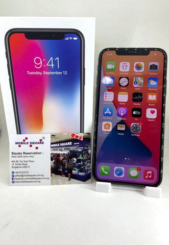 Apple iPhone  X<br>(256GB/3GB RAM)<BR>Color: Space Gray<br>(SKU: U755)