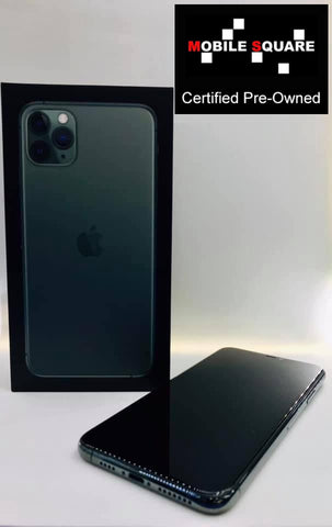 Apple iPhone 11 Pro Max<br>(256GB/4GB RAM)<BR>Condition: Used<BR>Color: Midnight Green<br>(SKU: U131)