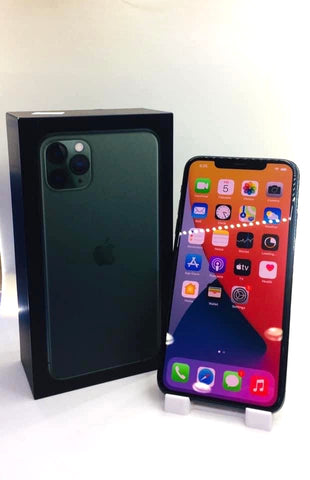 Apple iPhone 11 Pro Max<br>(256GB/4GB RAM)<BR>Color: Midnight Green<br>(SKU: U728)