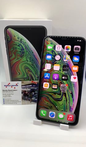 Apple iPhone XS Max<br>(256GB/4GB RAM)<BR>Condition: Used<BR>Color: Space Gray<br>(SKU: U754)