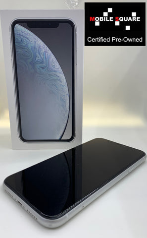 Apple iPhone XR<br>(64GB/3GB RAM)<BR>Condition: Used<BR>Color: White<br>(SKU: U162)