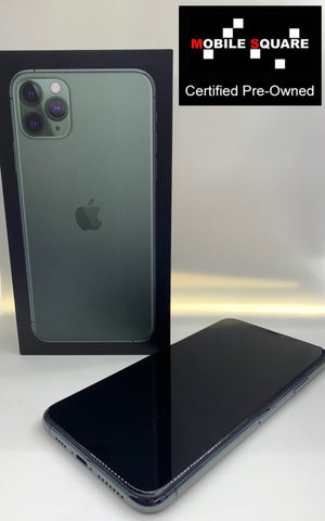 Apple iPhone 11 Pro Max<br>(256GB/4GB RAM)<BR>Condition: Used<BR>Color: Green<br>(SKU: U160)