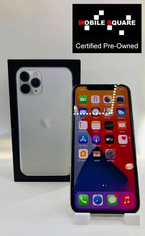 Apple iPhone 11 Pro<br>(512GB/4GB RAM)<BR>Condition: Used<BR>Color: Silver<br>(SKU: U172)
