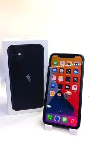 Apple iPhone 11<br>(128GB/4GB RAM)<BR>Condition: Used<BR>Color: Black<br>(SKU: U733)