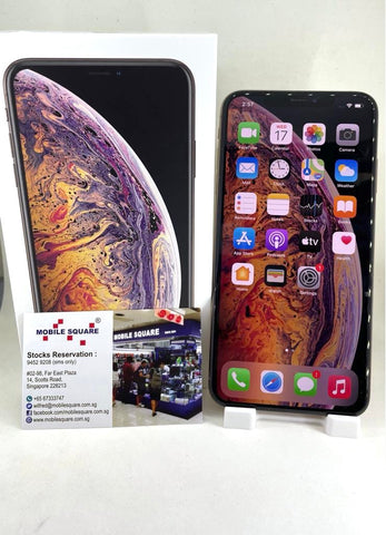 Apple iPhone XS Max<br>(256GB/4GB RAM)<BR>Condition: Used<BR>Color: Gold<br>(SKU: U753)