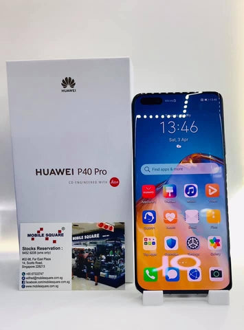 Huawei P40 Pro<br>(256GB/8GB RAM)<BR>Color: Breathing Crystal<br>(SKU: U867)
