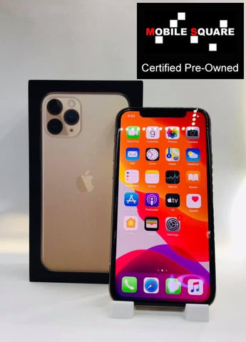 Apple iPhone 11 Pro<br>(64GB/4GB RAM)<BR>Condition: Used<BR>Color: Gold<br>(SKU: U177)