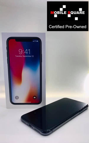 Apple iPhone X<br>(256GB/3GB RAM)<BR>Condition: Used<BR>Color: Grey<br>(SKU: U129)