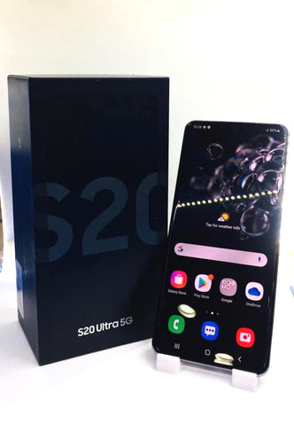 Samsung S20 Ultra 5G<br>(128GB/12GB RAM)<BR>Condition: Used<BR>Color: Gray<br>(SKU: U691)