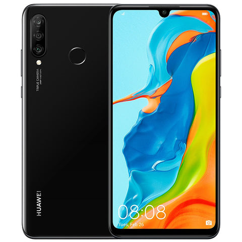 "Huawei P30 Lite<br>(128GB/6GB RAM)<BR><p style=""color:#FF0000"";>New Arrival!</p>"