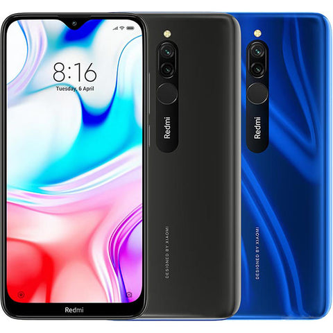 "Xiaomi Redmi 8<br>(64GB/4GB RAM)<br>1 Year Local Warranty<br><font color=""red"">(Fingo PS - $168)</font>"