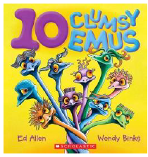 10 Clumsy Emus
