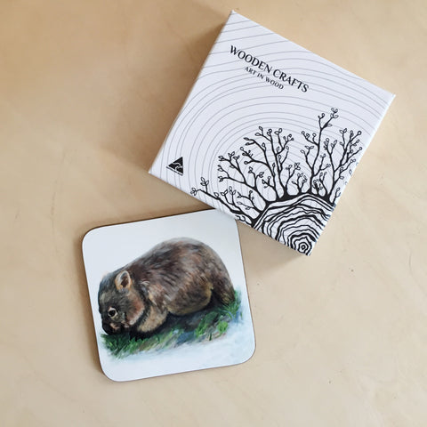 Coasters - Wildlife - set of 4