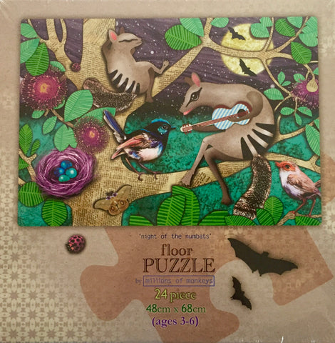 Floor Puzzle - Night of the Numbats