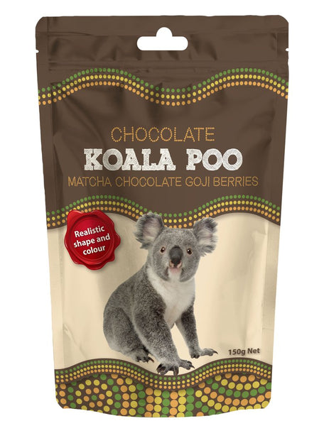 Koala Poo (Matcha Chocolate Goji Berries)