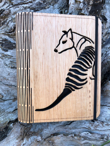 Notebook Cover A6 - Tasmanian Timber