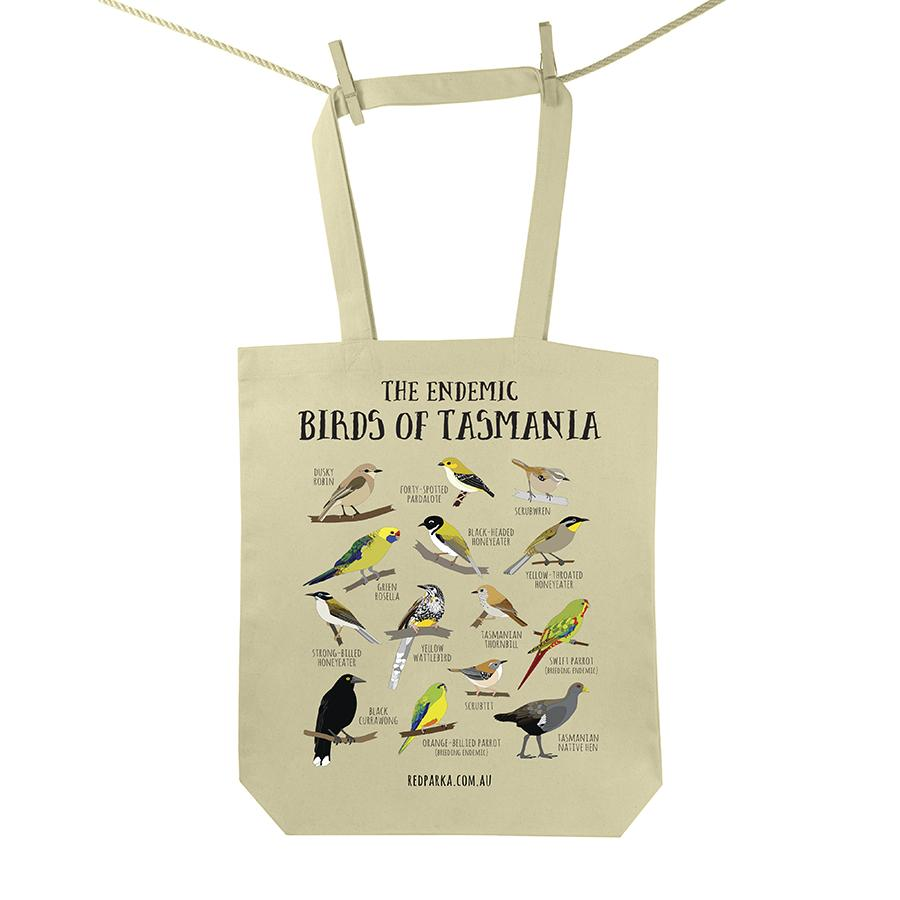 Birds of Tas Tote Bag